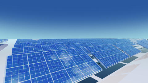 Solar Panel Ca2 HD Stock Video Footage