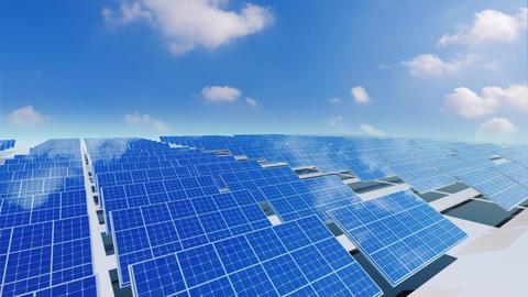 Solar Panel Ca4 HD Stock Video Footage
