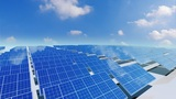 Solar Panel Ca4 HD stock footage