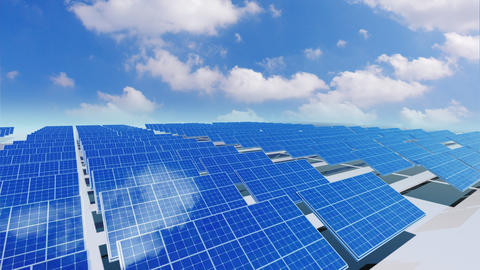 Solar Panel Ca4 HD Stock Video Footage