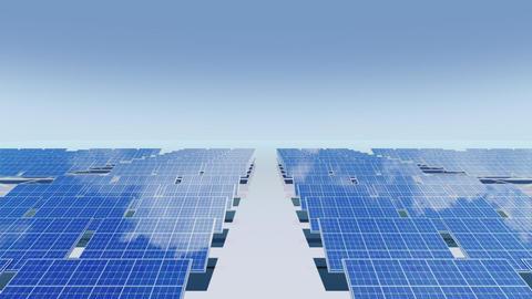Solar Panel Cb2 HD Stock Video Footage