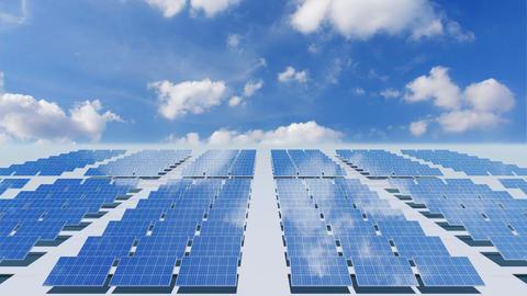 Solar Panel Cb4 HD Animation