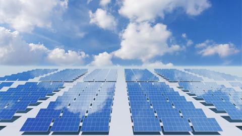 Solar Panel Cb4 HD Stock Video Footage