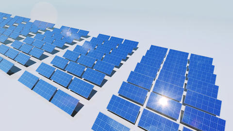 Solar Panel Cd3 HD Animation