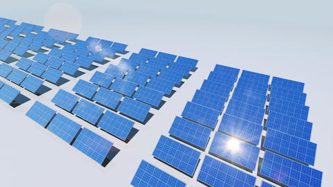 Solar Panel Cd3 HD Stock Video Footage