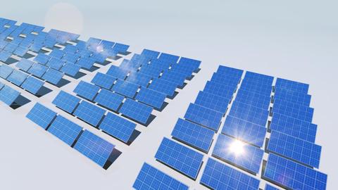 Solar Panel Cd3 HD Stock Video Footage