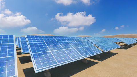Solar Panel Sa5 HD Stock Video Footage