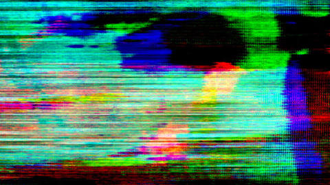 TV Noise 0308 HD-NTSC-PAL Stock Video Footage