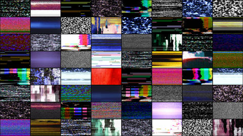 TV Noise 0401 HD-NTSC-PAL Stock Video Footage