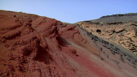 el golfo dead vulcan pan tilt Stock Video Footage