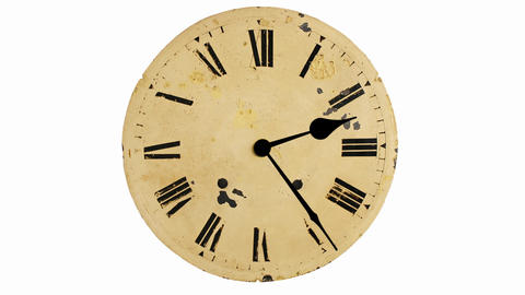 Antique clock timelapse Footage