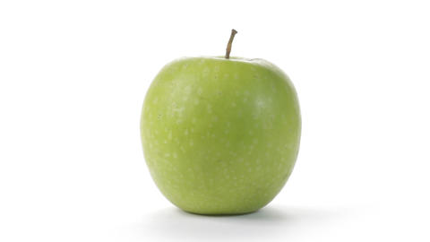 Green Apple Stock Video Footage
