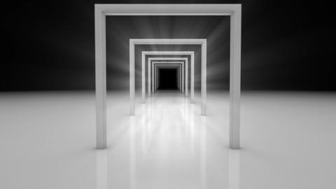 doors abstract Stock Video Footage
