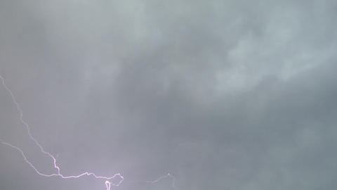 Lightning storm 07 Stock Video Footage