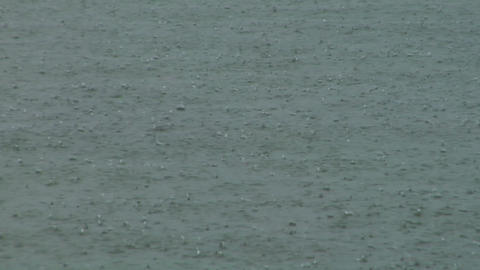 rain water 01 Stock Video Footage