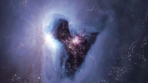 The Heavens 0407 HD-NTSC-PAL Stock Video Footage