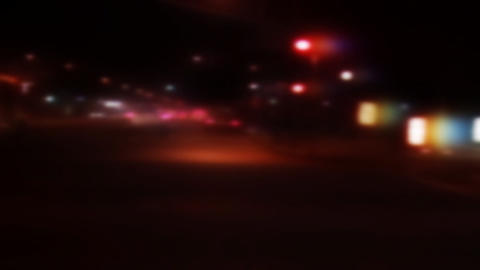 Street Lights 0303 HD-NTSC-PAL Stock Video Footage