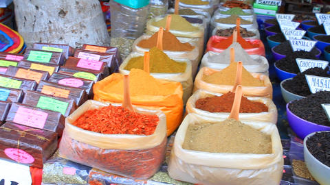 spices of India Stock Video Footage