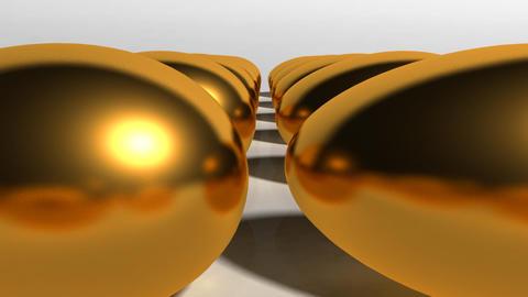 US money golden egg Stock Video Footage