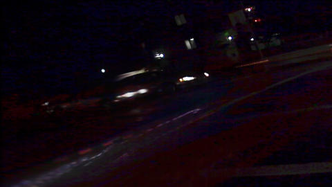 Street Lights 0310 HD-NTSC-PAL Footage