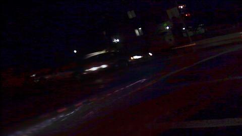 Street Lights 0310 HD-NTSC-PAL Stock Video Footage