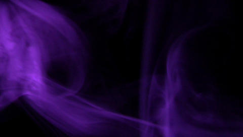 Smoke Purple 04 Loop Stock Video Footage