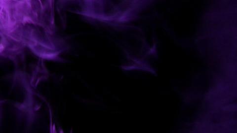 Smoke Purple 04 Loop Stock Video Footage