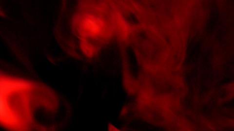 Smoke Red 02 Loop Footage