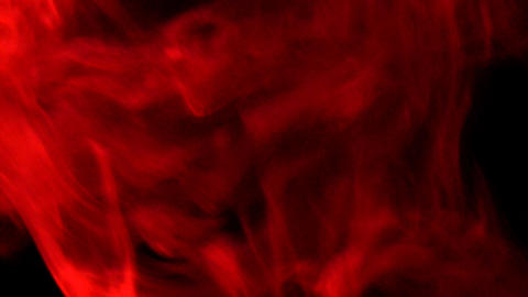 Smoke Red 04 Loop Stock Video Footage