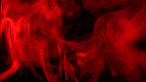 Smoke Red 06 Loop Stock Video Footage