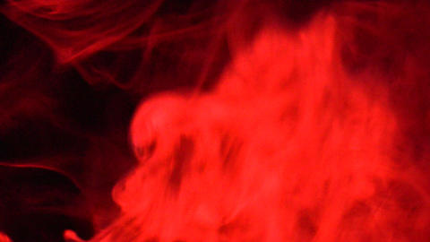 Smoke Red 08 Loop Stock Video Footage