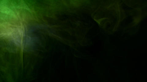 Smoke Side 02 Loop Stock Video Footage