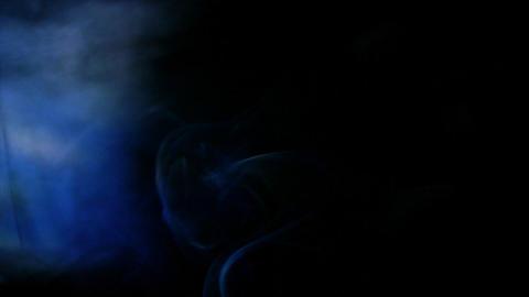 Smoke Side 04 Loop Stock Video Footage