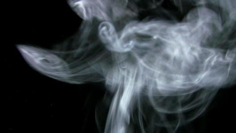 Smoke White 010 Loop Stock Video Footage