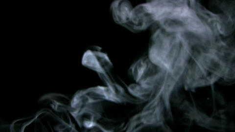 Smoke White 012 Loop Stock Video Footage