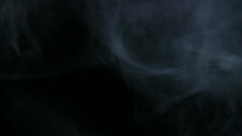 Smoke White 04 Loop Stock Video Footage