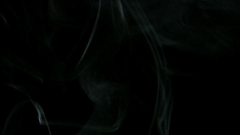Smoke White 06 Loop Stock Video Footage