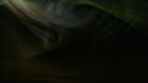 Smoke Yellow 01 Loop Stock Video Footage