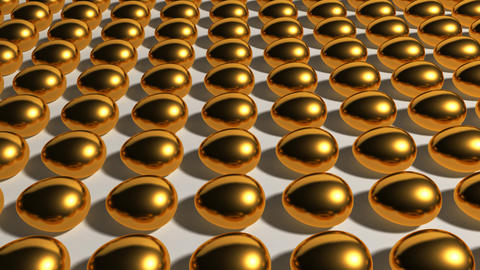 gold eggs industry Animation