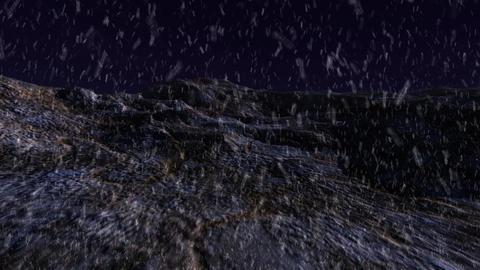 halloween evil snow hill Stock Video Footage