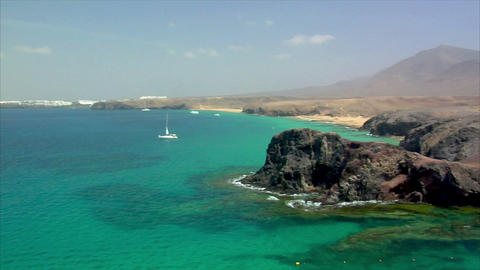 pan papagayo beach to playa blanca Footage