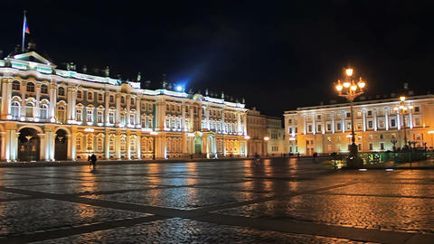 Night at the Palace Square Footage