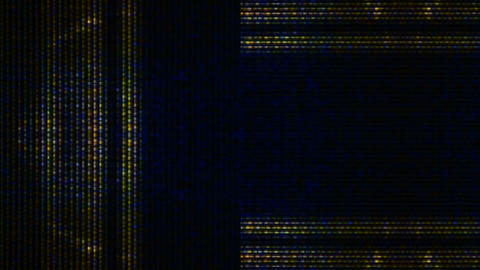 Data Storm 0202 HD-NTSC-PAL Stock Video Footage