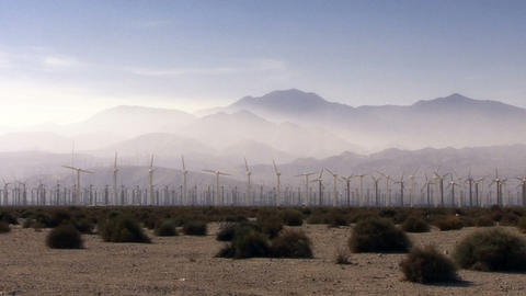 Wind Power 0101 HD-NTSC-PAL Stock Video Footage