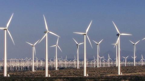 Wind Power 0103 HD-NTSC-PAL Stock Video Footage