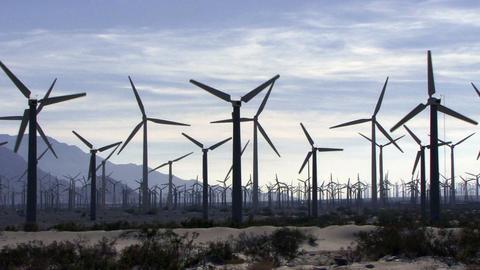 Wind Power 0106 HD-NTSC-PAL Stock Video Footage