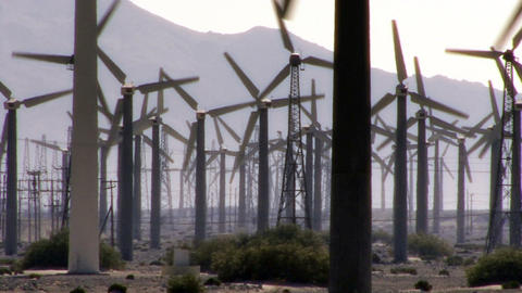 Wind Power 0108 HD-NTSC-PAL Stock Video Footage