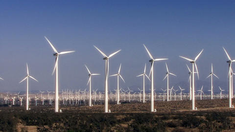 Wind Power 0110 HD-NTSC-PAL Stock Video Footage