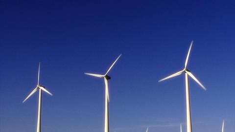 Wind Power 0112 HD-NTSC-PAL Stock Video Footage