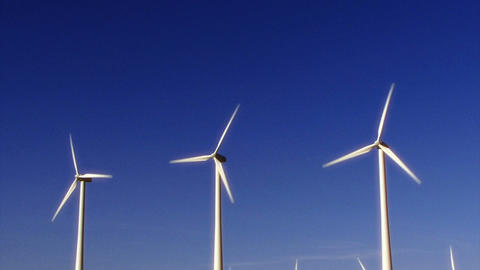 Wind Power 0112 HD-NTSC-PAL Stock Video Footage